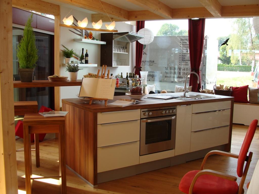Küchenausstellung von Holzmanufaktur Seeon